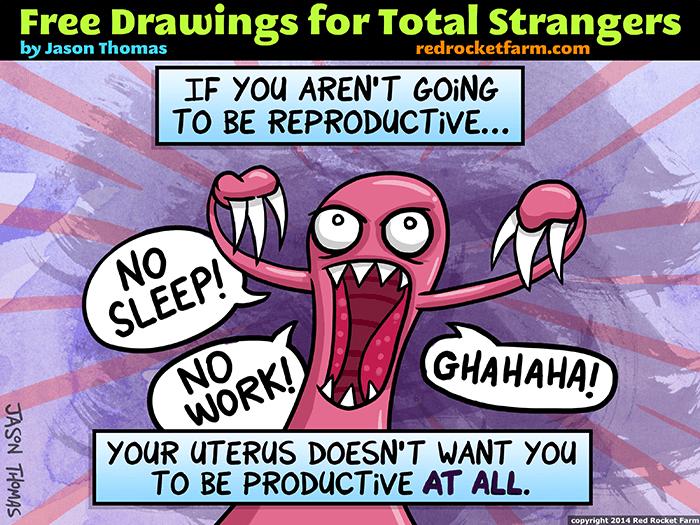 An Angry Uterus