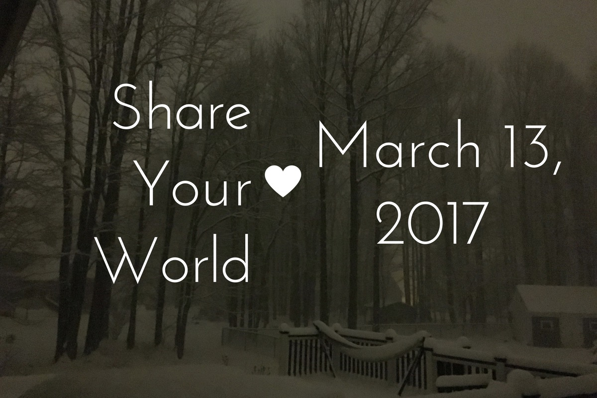 Share Your World- March 13, 2017
