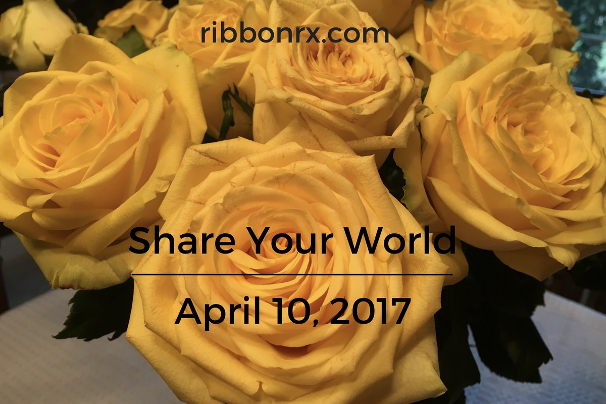 Share Your World: April 10, 2017